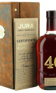 Isle of Jura 1966 40 Year Old with Presentation Case